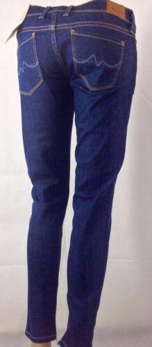 Slim Fit Jeans fermeture Pepe I128 l28 Femmes W24 glissière à intérieure qB6pyItSF
