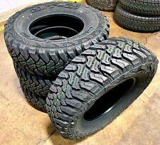4 New Accelera M/T-01 LT 235/75R15 Load C 6 Ply MT Mud Terrain Tires