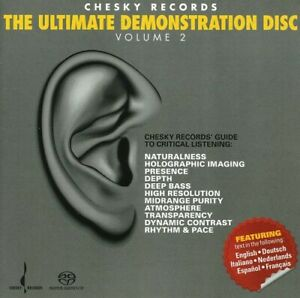 Various-Artists-The-Ultimate-Demonstration-Disc-Volume-2-SACD-NEW