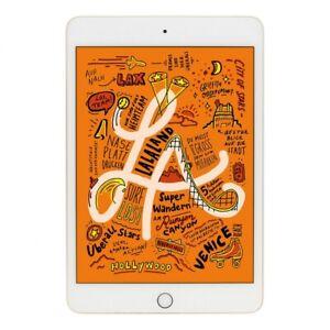 Apple iPad mini 2019 (A2124/A2126) Wifi + 4G 256 Go or (État Comme neuf)