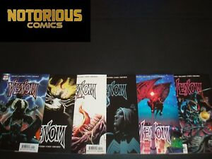 Details about Venom 1 2 3 4 5 6 Complete Comic Lot Run Set Donny Cates  Knull Marvel Collection