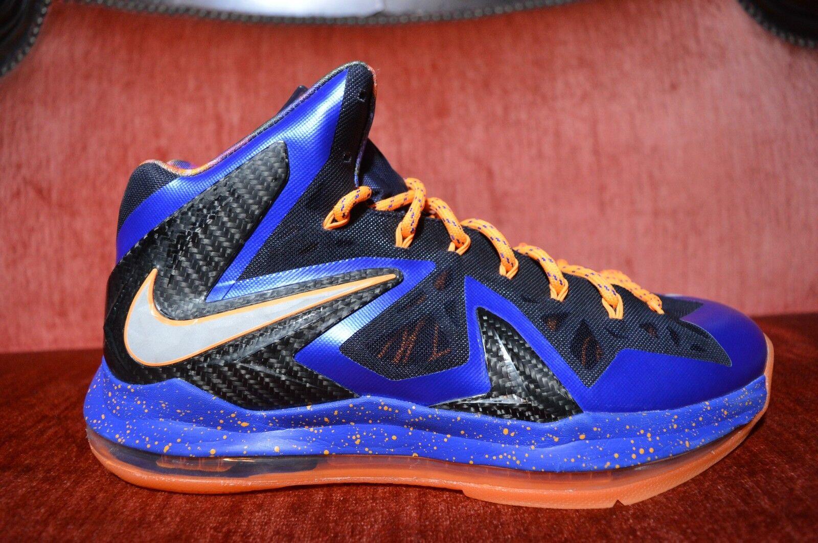 WORN TWICE Nike Lebron 10 X Elite Superhero Size 10 Men's Basketball shoes Super