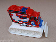 2013 Matchbox BLIZZARD BUSTER 92/120 MBX Explorers LOOSE Red