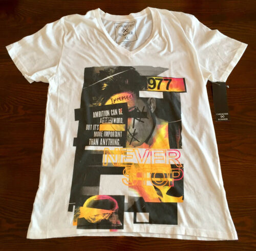 Casualties Of Summer V-Neck Tee Mens Size XL NWT