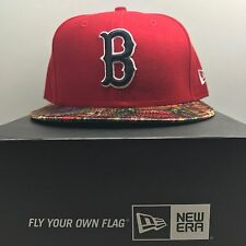 New Era 59Fifty Boston Red Sox 7 1/4 Fitted Baseball Cap  Free Post