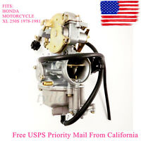 Carburetor For Honda Xl250s Xl 250s Xl 250 S 1978 1979 1980 1981 4-stroke