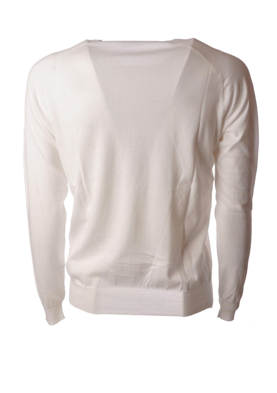 Paolo Pecora - Knitwear-Sweaters Man - Man Knitwear-Sweaters - bianca - 5041411D184221 9c3881