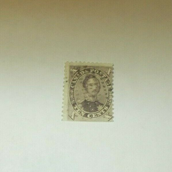 Canada Stamp Prince Albert SC 17  X Ten First Cents Issue 1859 Used