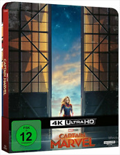 Artikelbild Captain Marvel 4K Steelbook Edition  UHD Disc und Blu_Ray FSK 12