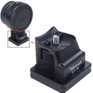 Neu-Ersatz-Base-Stand-Fuss-fuer-Canon-EF-EOS-M-Kamera-Objektiv-Mount-Adapter-Ring