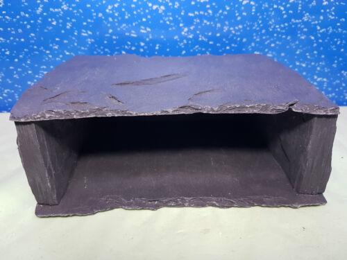 s Fennstones slate stone cave hide ornament aquarium fish tank choice of xs m