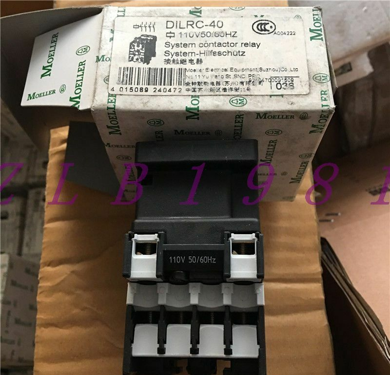 ONE NEW EATON DILRC-40 110V
