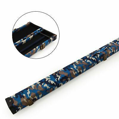 CLEARANCE 120cm Deluxe ¾ Joint Snooker Cue Case PURPLE DRIFTWOOD