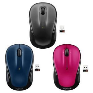 Logitech-M325-3-Buttons-USB-Wireless-1000-DPI-2-4GHz-Unifying-Optical-Mouse