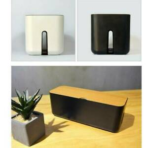 Socket-Safety-Tidy-Organizer-Cable-Storage-Box-Wire-Cable-E6T1-Dust-Managem