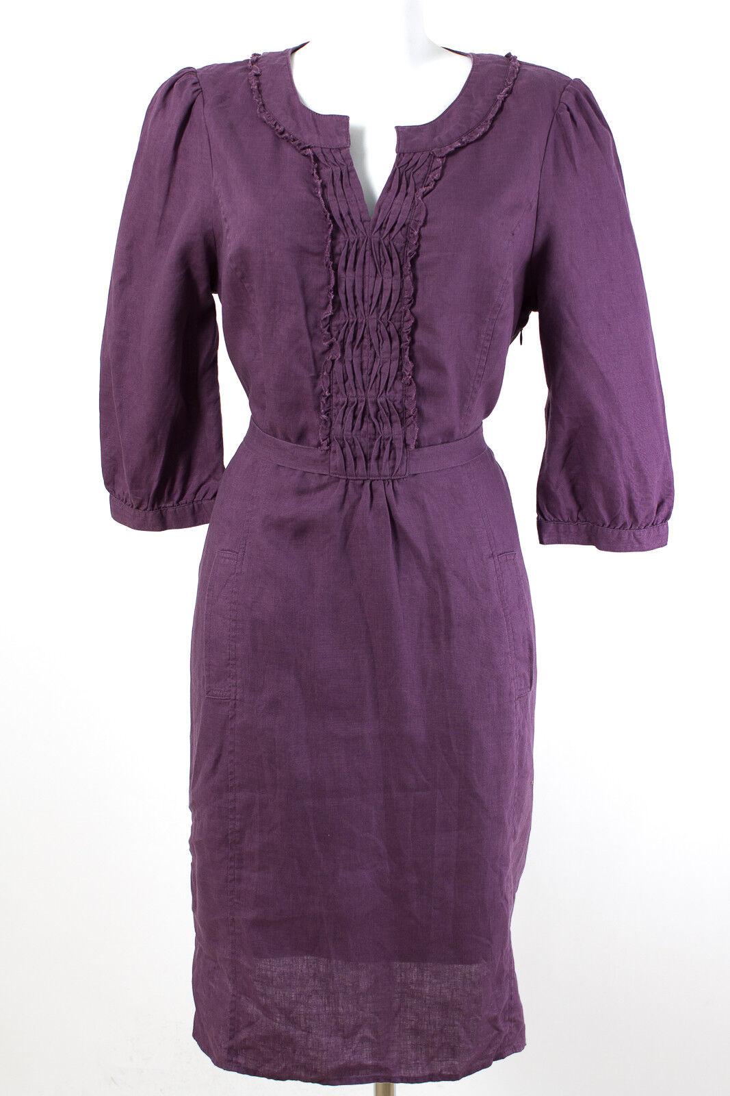 Boden Kleid WIE NEU  Gr.42   XL 100% Leinen Tunikakleid Sommerkleid Casual Dress
