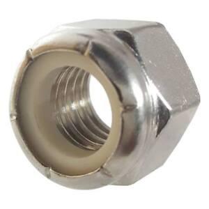 1//4-20 Nylon Insert Lock Nuts Stainless Steel Nylock 25 The best fasteners
