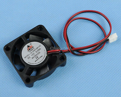 12V Mini Cooling Computer Fan - Small 40mm x 10mm DC Brushless 2-pin