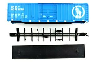 Athearn-HO-Scale-Gauge-Train-SHELL-ONLY-Car-Great-Northern-Blue-Underframe