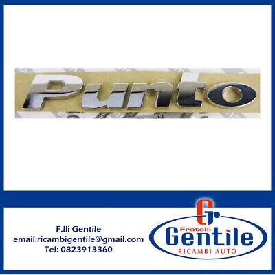 PUNTO DA 1999 A 2010 SCRITTA STEMMA LOGO POSTERIORE NUOVO ORIGINALE 51734001