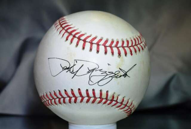 PHIL RIZZUTO PSA/DNA SIGNED AMERICAN LEAGUE BASEBALL  AUTHENTICATED AUTOGRAPH