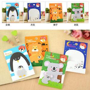 Parent-Baby-Child-Penguin-Polar-Bear-Lion-Koala-Animal-Adhesive-Sticky-Notes