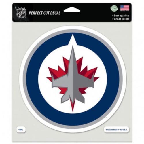 "Winnipeg Jets Perfect Cut 8/""x8/"" Large Licensed Decal *FREE SHIP HCW"