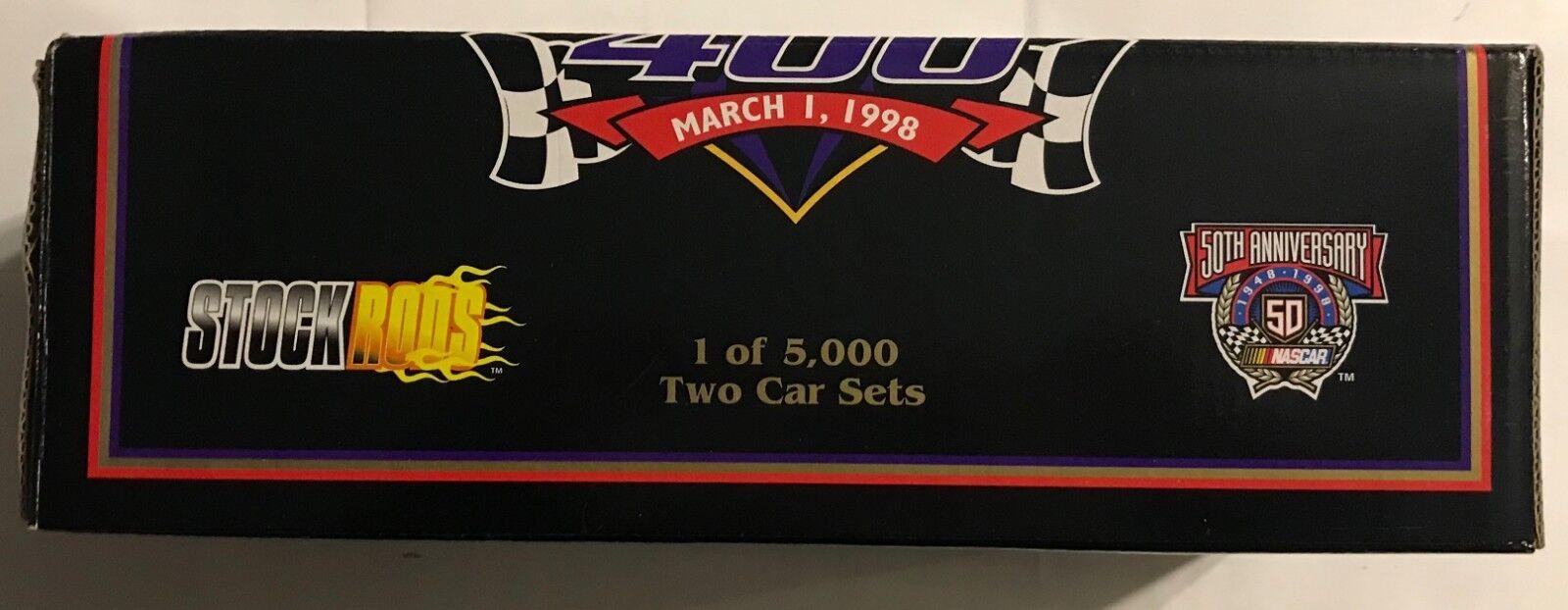 1998  6 Mark Martin 1933 Ford highboy  3722 3722 3722 5000 Dorado Cromo 2 coches 1 24th  3103 5c0e4f