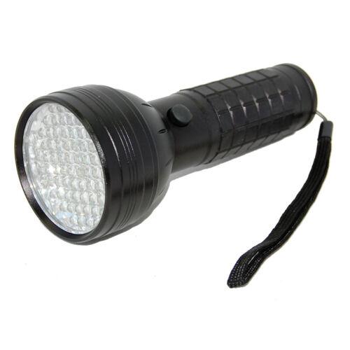 HQRP 76 LED UV Blacklight Ultra Violet Money Scorpion Vaseline Detector Effects