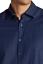 Stone Rose Men/'s Indigo Blue Dark Wash Polka Dot Woven Long Sleeve Dress Shirt