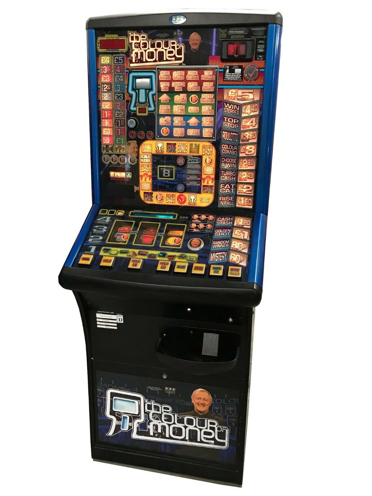 The Colour of Money Fruit Machine - Ready to Play - Games Room Home Bar Man Cave