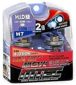 MTEC H7 12V 55 W JDM jaune effet xénon ampoules mise à niveau des performances japonais NEUF
