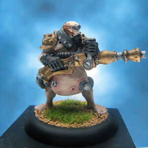 Painted-Privateer-Press-Warmachine-Miniature-Bile-Thrall