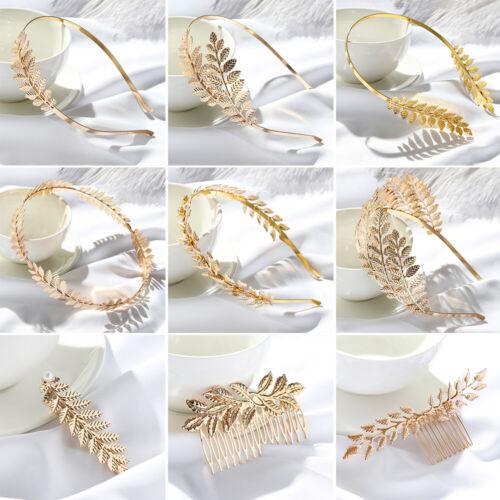 Combs Headwear Leaves Hair Bands Wedding Hair Crown Hair Hoop Bride Headbands