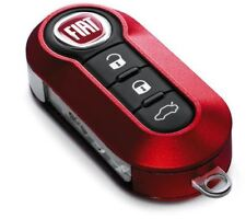 Fiat 500, Grande Punto, Evo Official Fiat Red 2-Piece key Cover. Brand New
