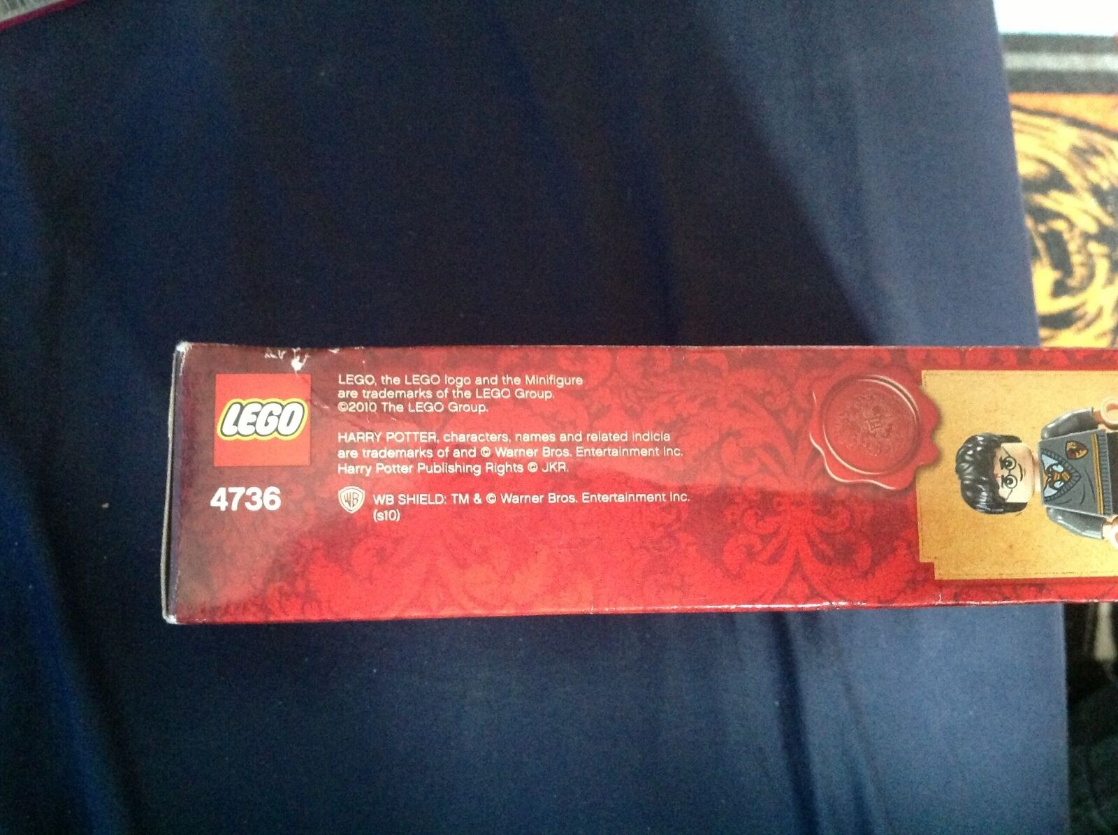 Lego 4736 harry potter freeing freeing freeing dobby new and sealed uk seller 1eb250