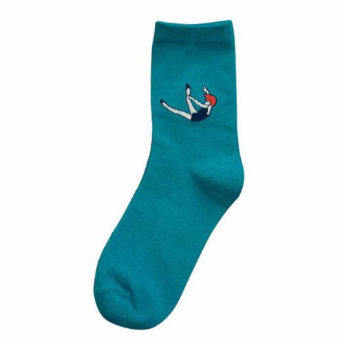 For Women Harajuku Socks Fashion For Girls Socks Warm Socks 5 Color Cartoon