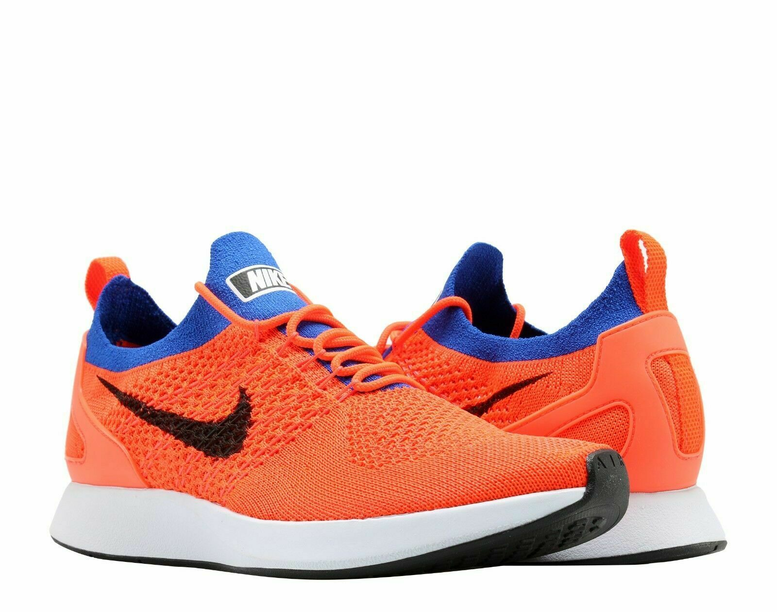 Nike Air Zoom Mariah Flyknit Men's Running shoes Crimson Black bluee 918264 800