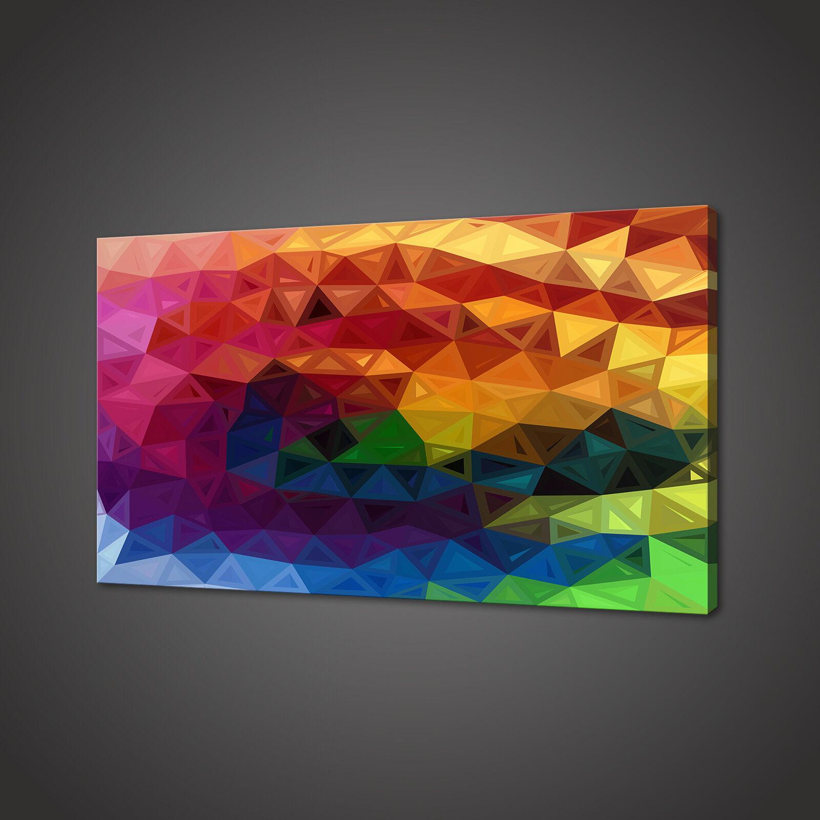 Design Astratto Rainbow Stampa Foto su tela Wall Art Design Moderno