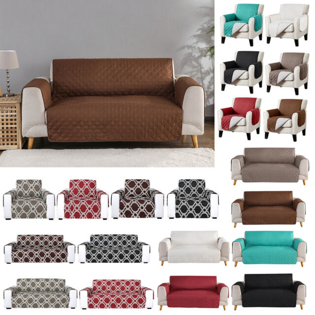 Cool Waterproof Quilted Sofa Cover Couch Cushion Pet Slipcover Furniture Protector Machost Co Dining Chair Design Ideas Machostcouk