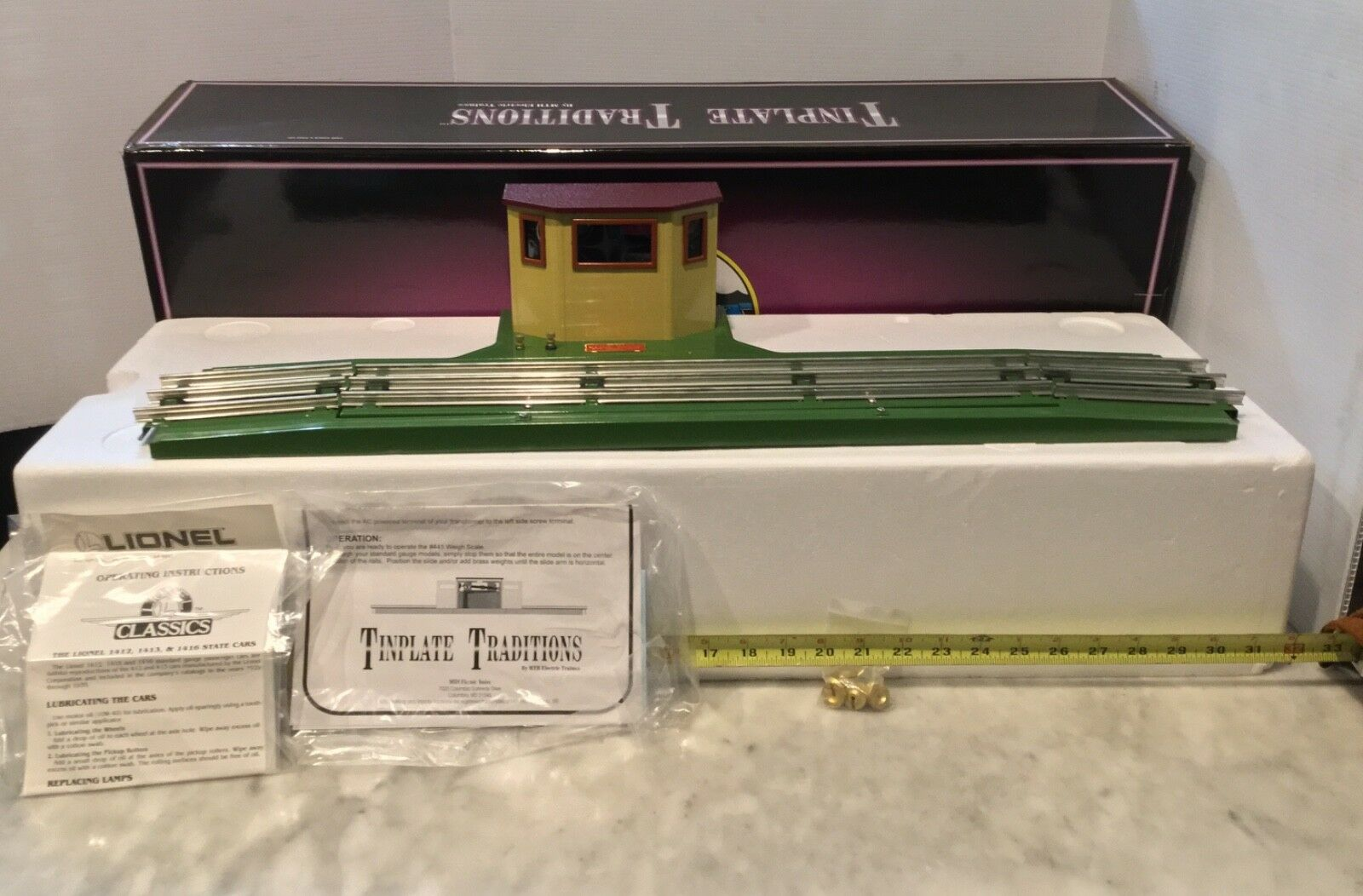Lionel standard gauge lionel begrenzte aussichtsplattform   312 vor dem krieg 1924-39
