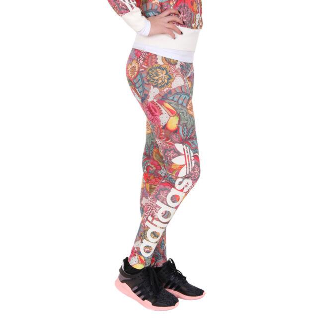 2a1a963c7a5952 Adidas FUGIPRABALI LINEAR LEGGINGS Tight Yoga Running THE FARM Pants~Womens  sz S