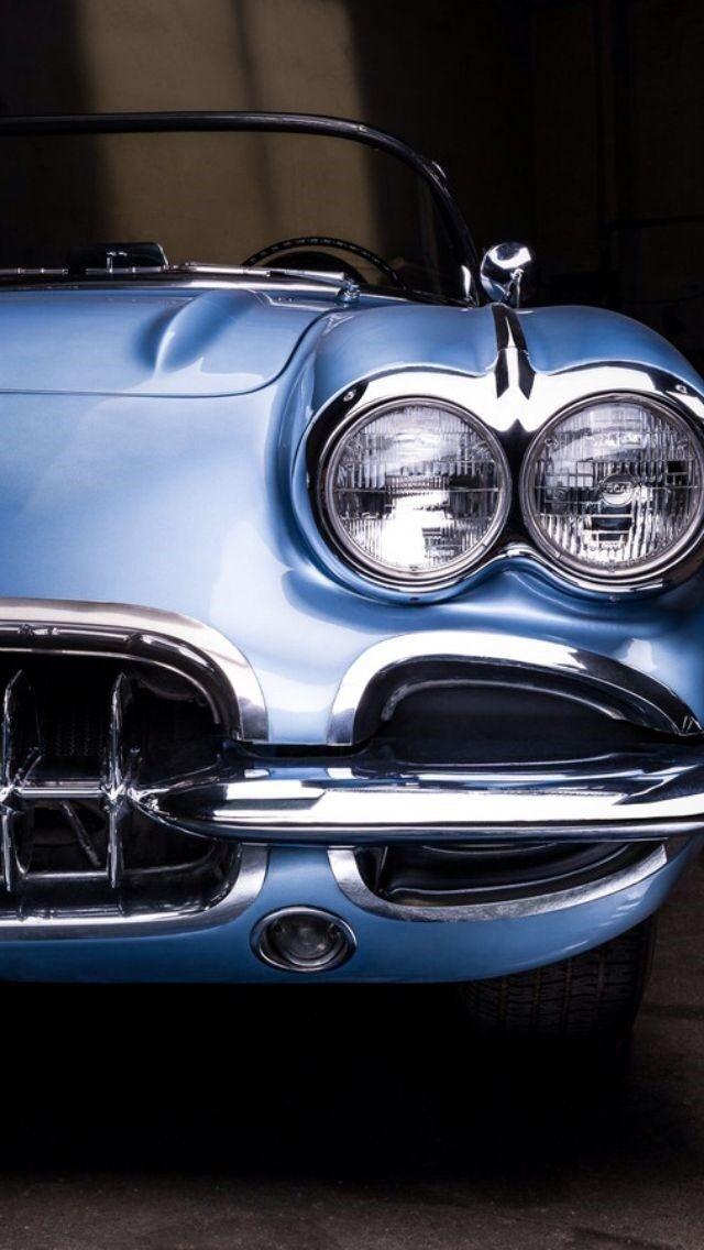 Chevy 1959 Corvette Chevrolet 1 Vette Race Car 24 Vintage Indy 18 Carousel bluee