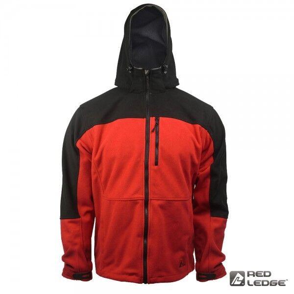 rouge Ledge Vanquish Polaire Storm Veste-parfait pour la pêche-Taille L-NEUF