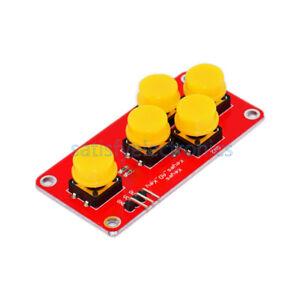 Analog Button for Arduino  Keyboard Electronic  Simulate Five Key ModuleJH