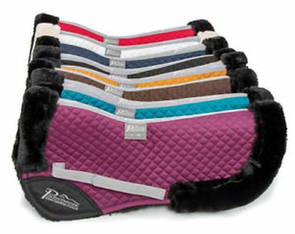 SHIRES PERFORMANCE FULLY LINED SUPAFLEECE HALF  PAD VARIOUS COLOURS  for sale online