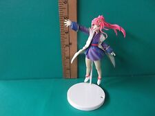 "Gundam SEED Destiny Lacus Clyne 4.5""in Figure Super Bright Pink Hair Darling!!"