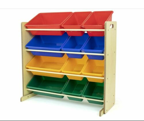 Primary group with 12 plastic The toy storage organizer in the Humble Natural