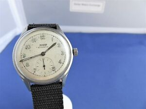 A-very-Rare-MILITARY-TISSOT-BUMPER-AUTOMATIC-1940-039-S-swiss-made-men-039-s-watch