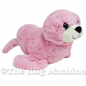 DINKI-DI-CUDDLES-PINK-SEAL-SOFT-ANIMAL-PLUSH-TOY-30cm-NEW